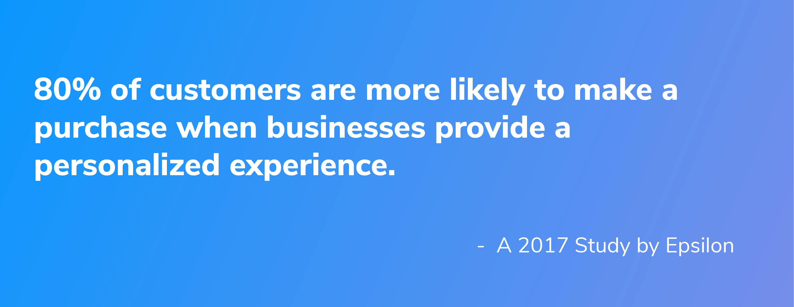 personalized customer experiences improve purchase decisions